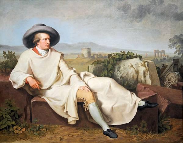Goethe... die faule Sau