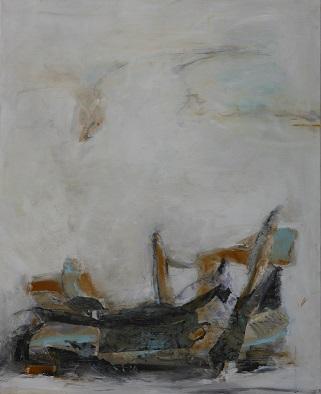 Fragmente, Mischtechnik, 100 x 80 cm , 2016