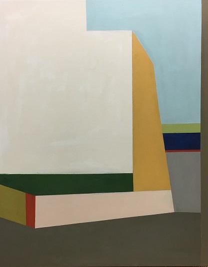 Farbräume 4, Acryl, 100 x 80 cm, 2018