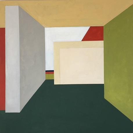 Farbräume 12, Acryl, 100 x 100 cm, 2019