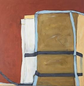 Farbfelder 9, Acryl, 60 x 60 cm, 2018