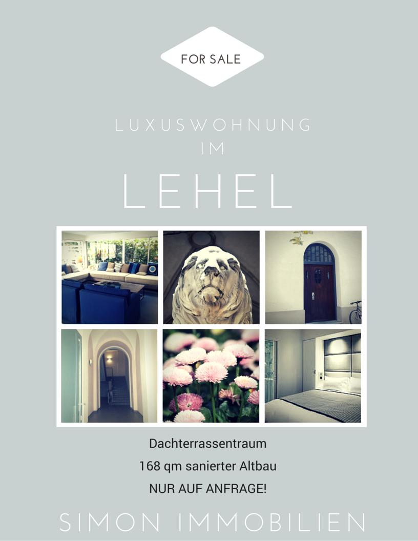 Bild: Dachterrassenwohnung WEG München Innenstadt Lehel Liebigstrasse kaufen