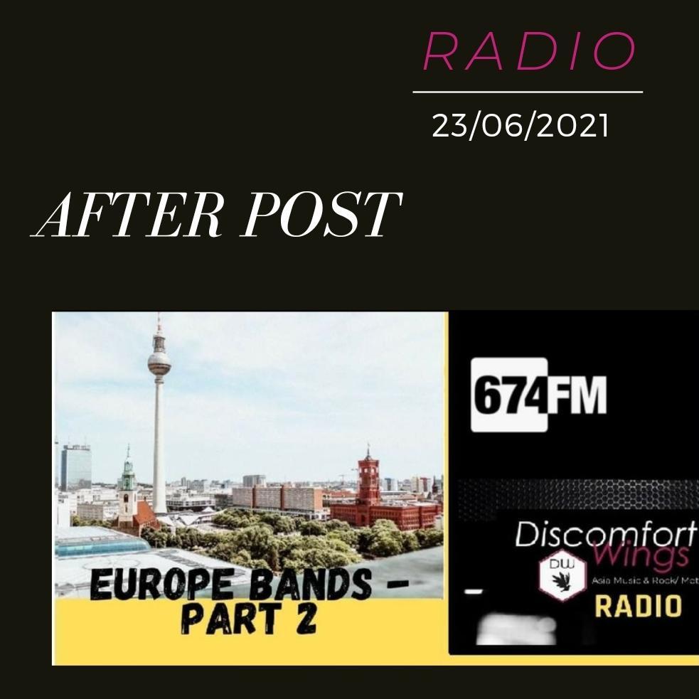#3 Discomfort Wings Radio - Europe bands Part 2