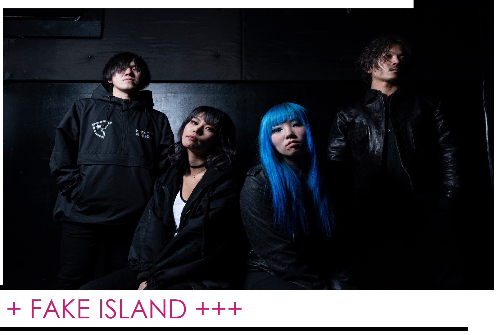 FAKE ISLAND - Heavy sounds from Japan
