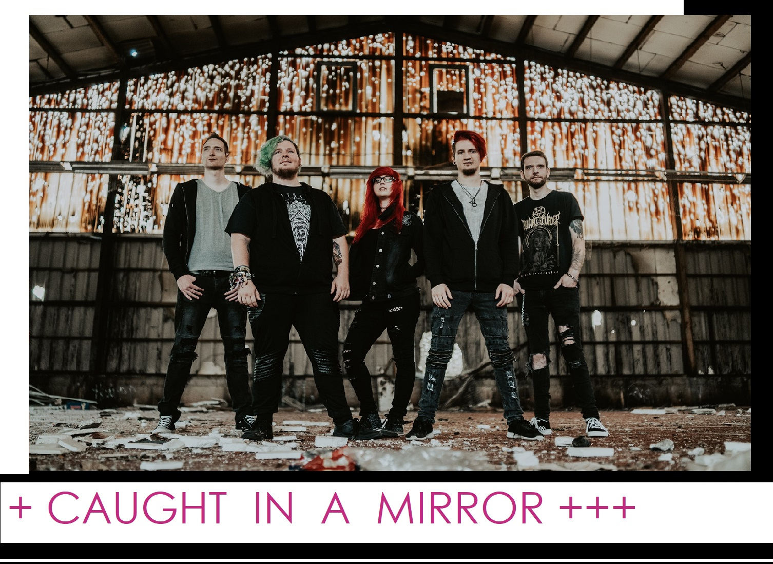"""""""Set me free"""" with Metalcore - Caught In A Mirror"""