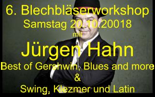 Bläserworkshop in Neustadt/Aisch mit Jürgen Hahn