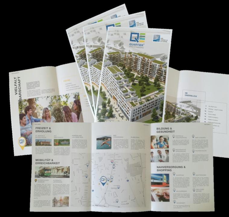 C+P Broschüre für Bauprojekt