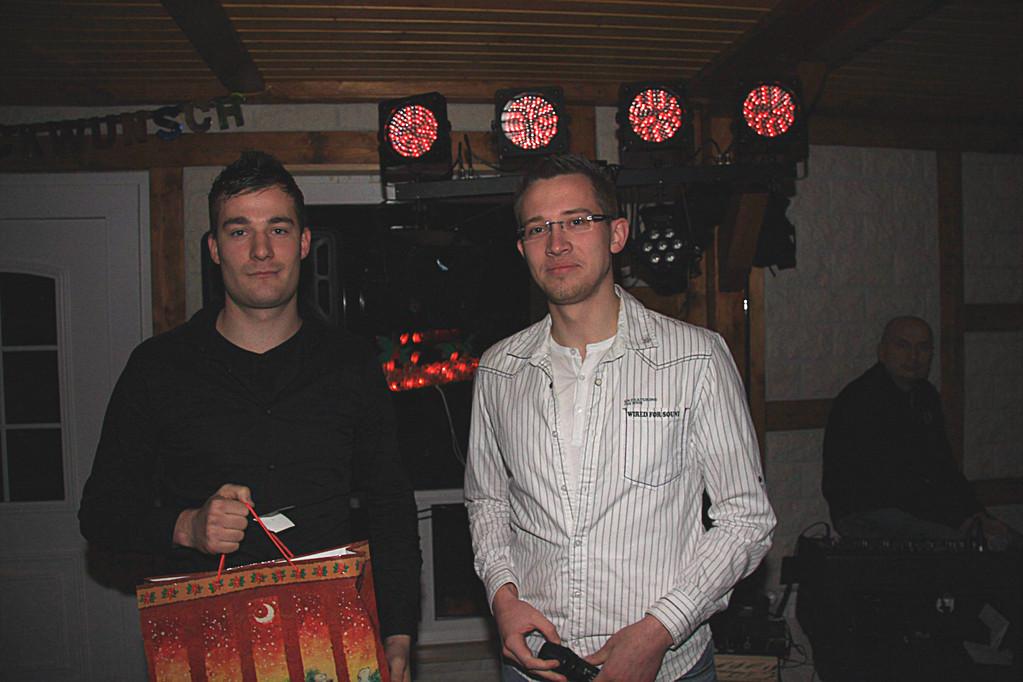 Tobias Vogel und Maik Hornuff