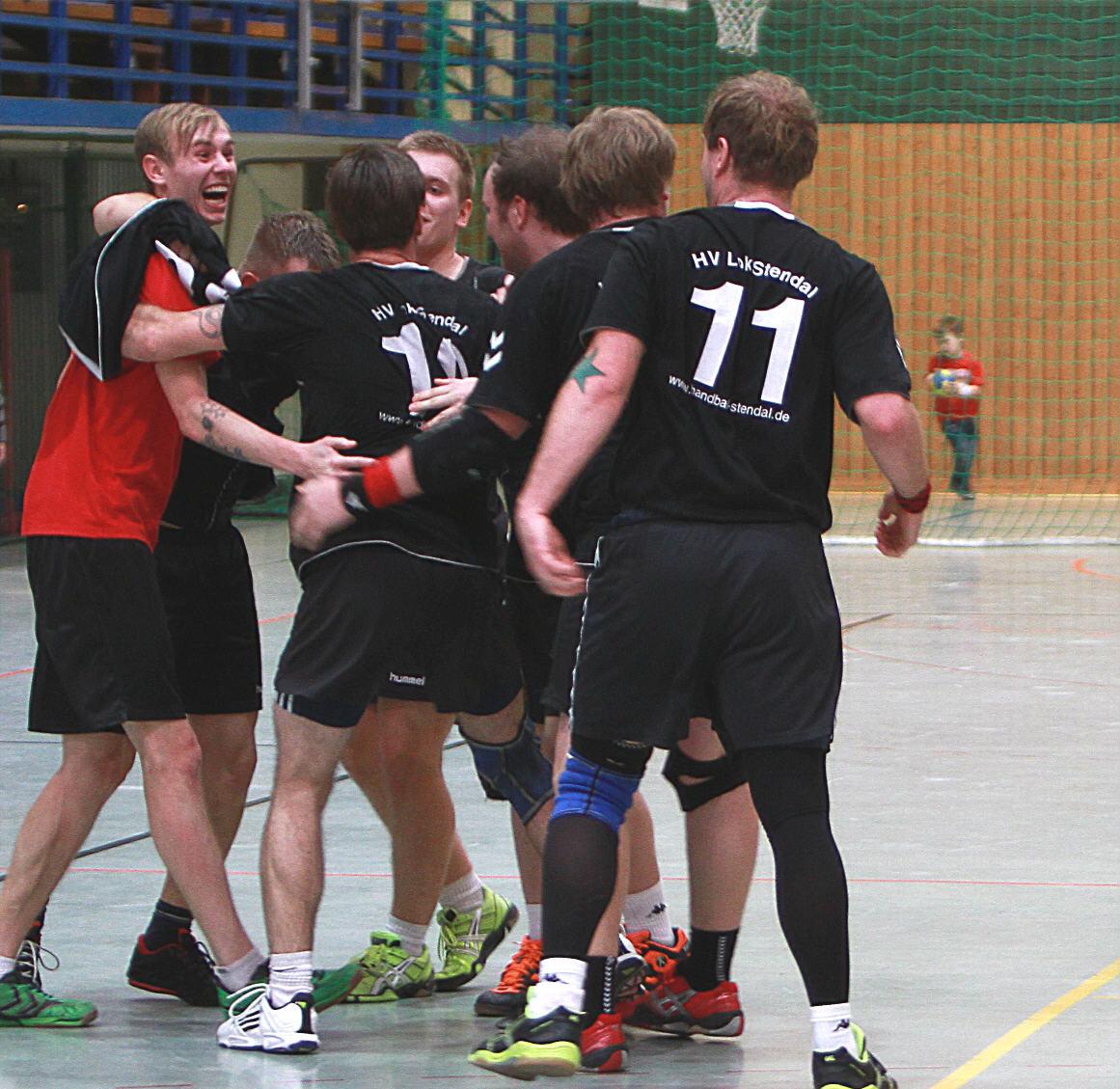 Sieg beim Halleschen SC 96 am 09.12.2012