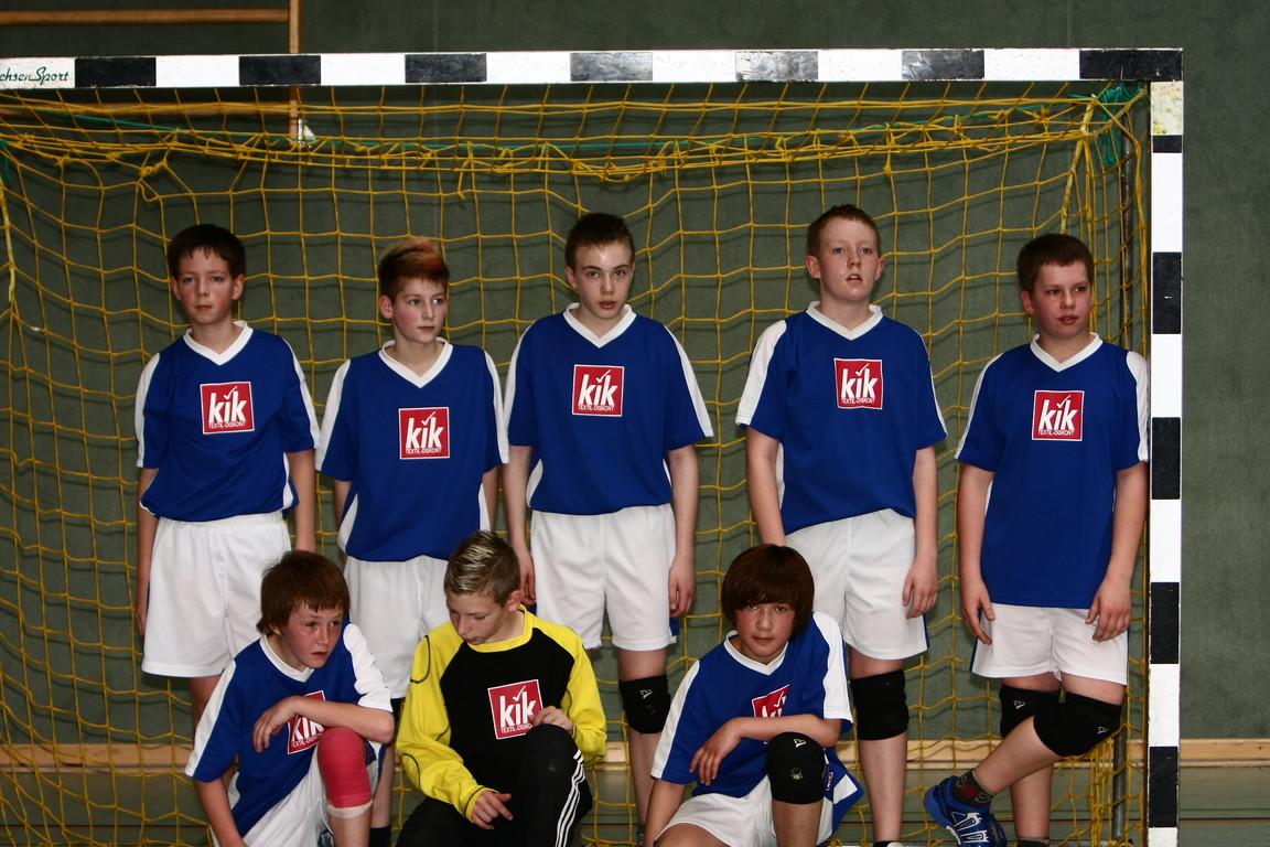 Die 1. Mannschaft mJD des ESV Lok Stendal wurde Altmarkmeister 2008/2009