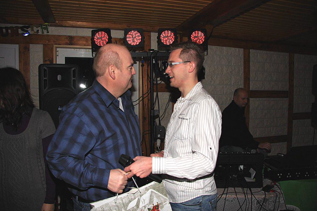 Frank Ziekau und Maik Hornuff