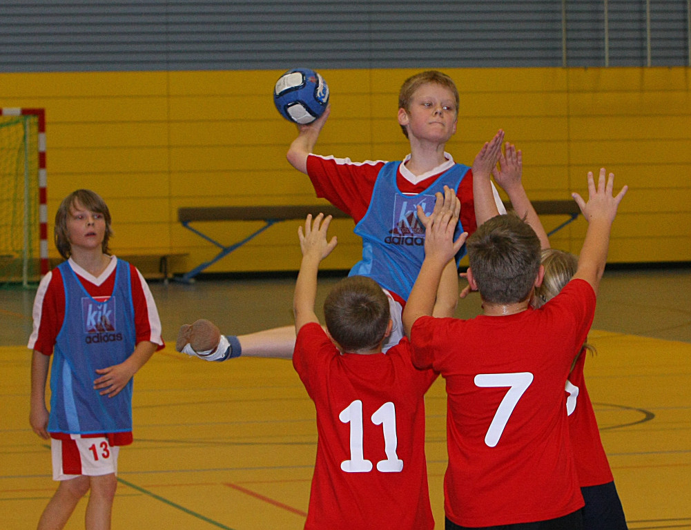 halbzeit handball