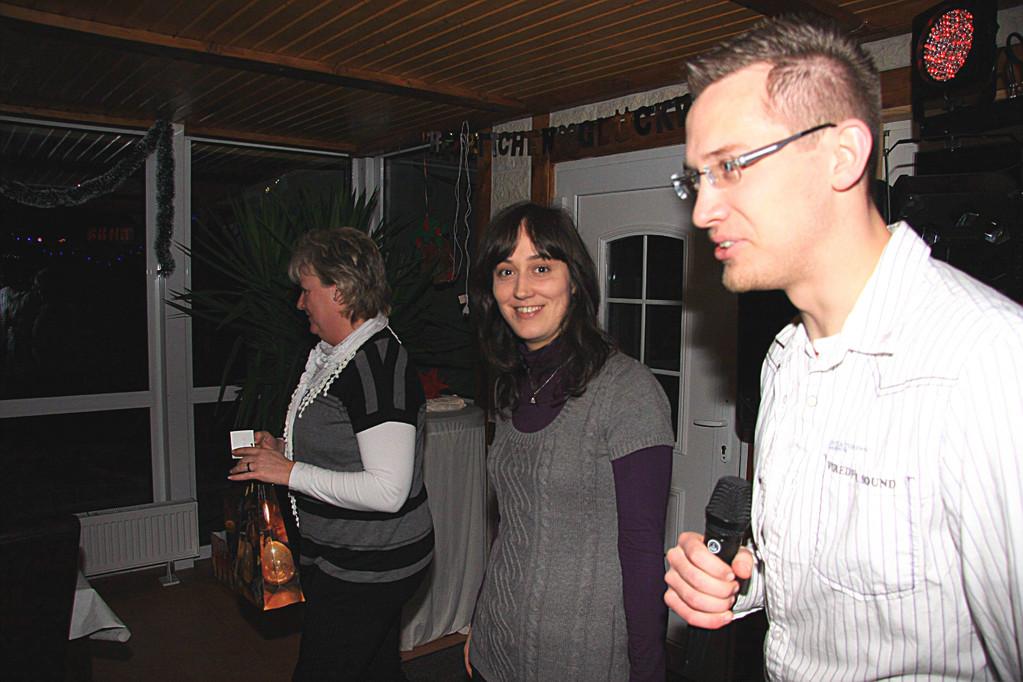 Cordula Schumann, Yvonne Hyna und Maik Hornuff