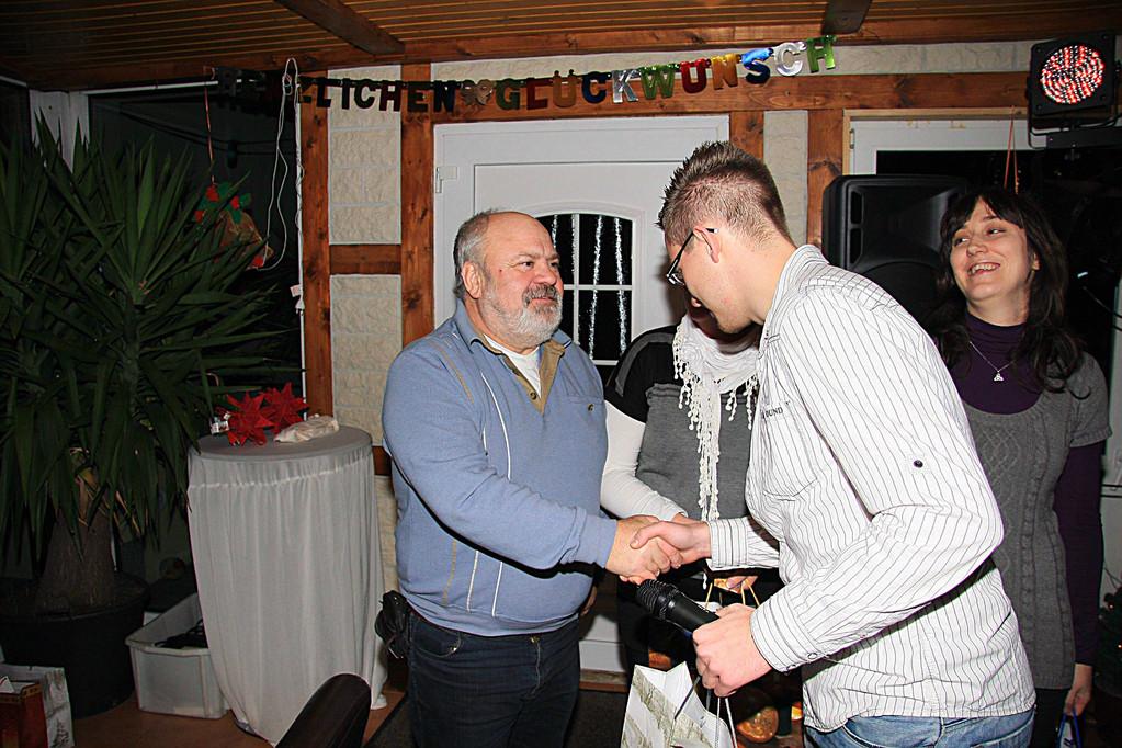 Paul Jahn und Maik Hornuff