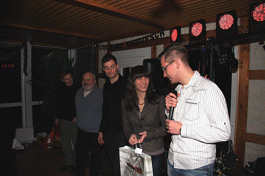 Dirk, Paul, Tobias, Bianca und da Maik