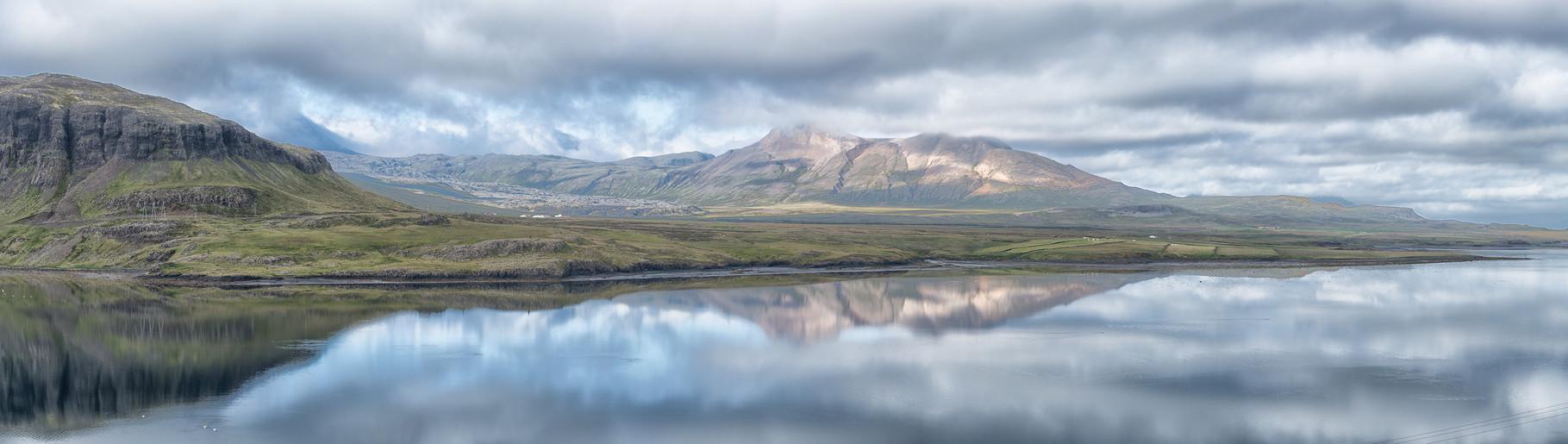 Panorama auf der Snaefellshalbinsel