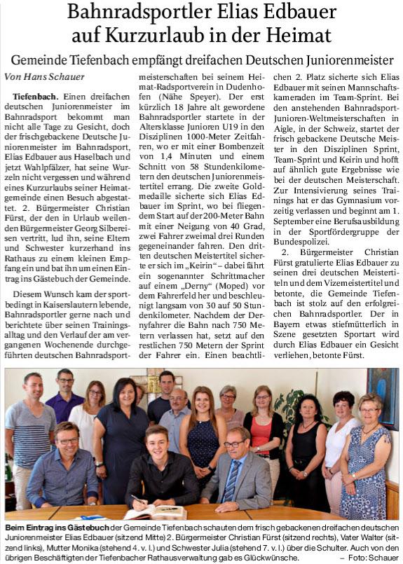 Quelle: Passauer Neue Presse 20.07.2018