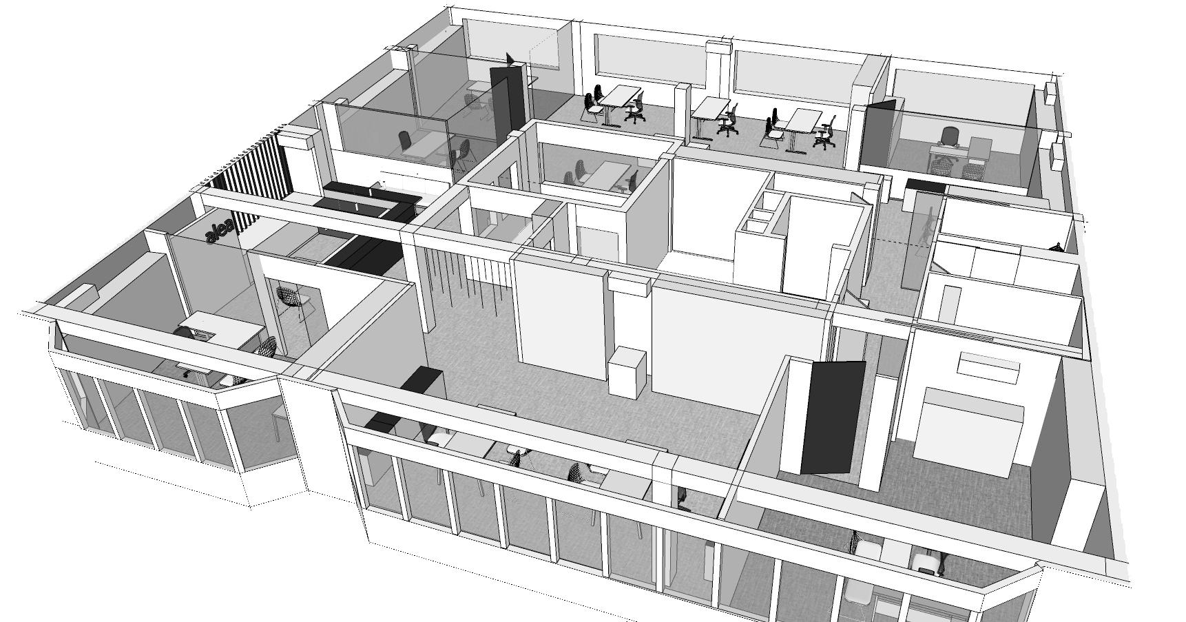 Proyecto Oficinas en Carballo
