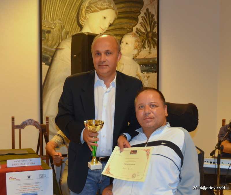 PREMIO POPOLARE PITTURA ad Antonio Giunta (Coppa)