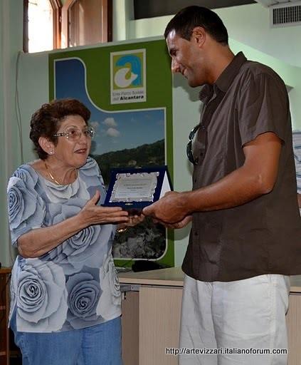 Socio onorario Asas pres. Maria Bella Raudino