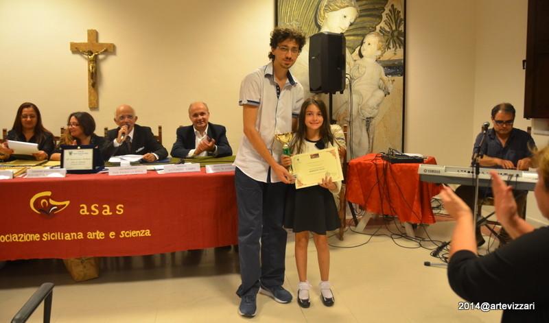 Premio per Aspirante Artista  a Benedetta Pulejo (Coppa)