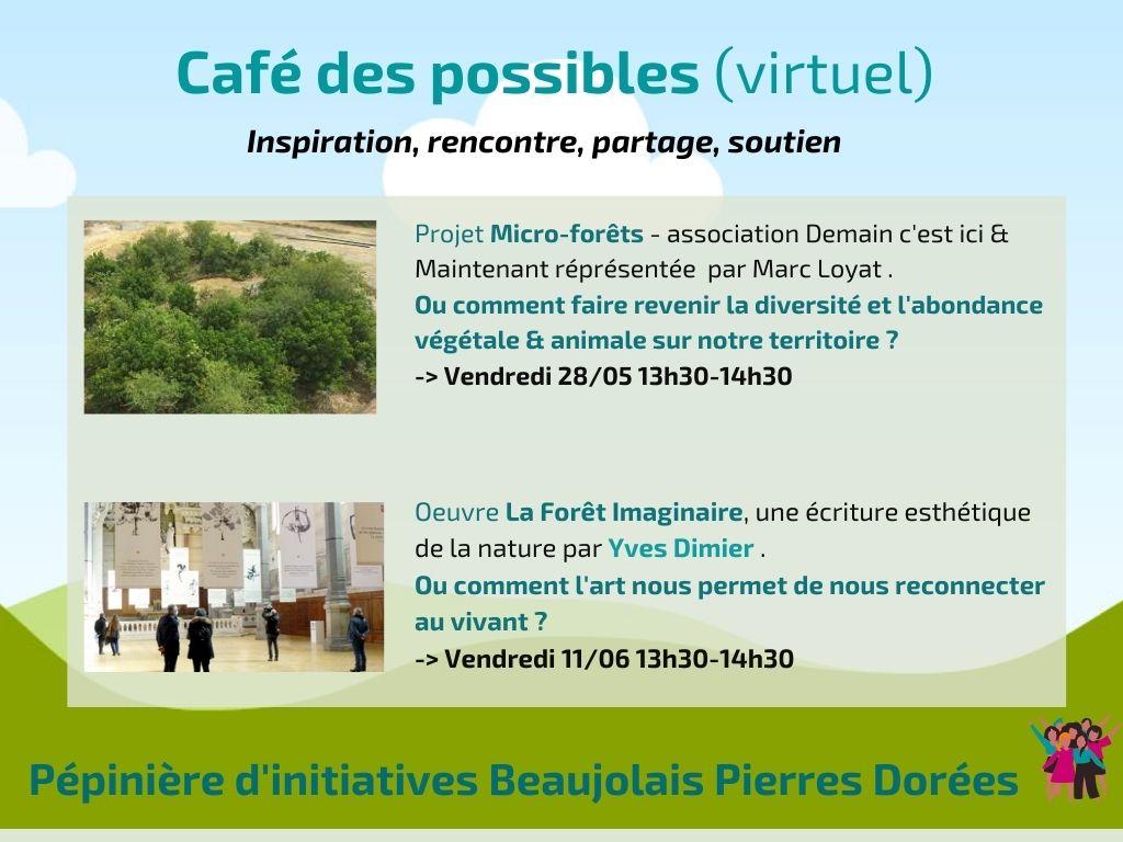 Cafés virtuels de 28 mai et 11 juin : Forêt quand tu nous tiens !