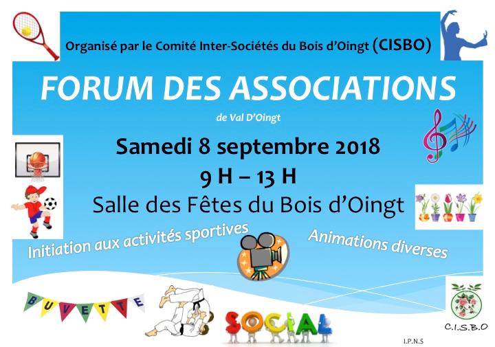Forum des asso Val d'Oingt 2021