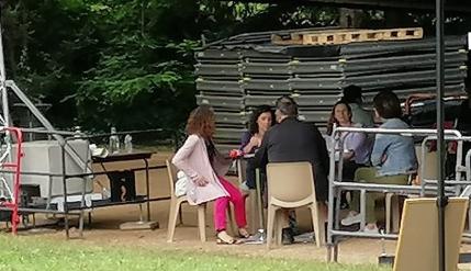 Le café des possibles lors de la Fête de La Cabane (04/07/21)