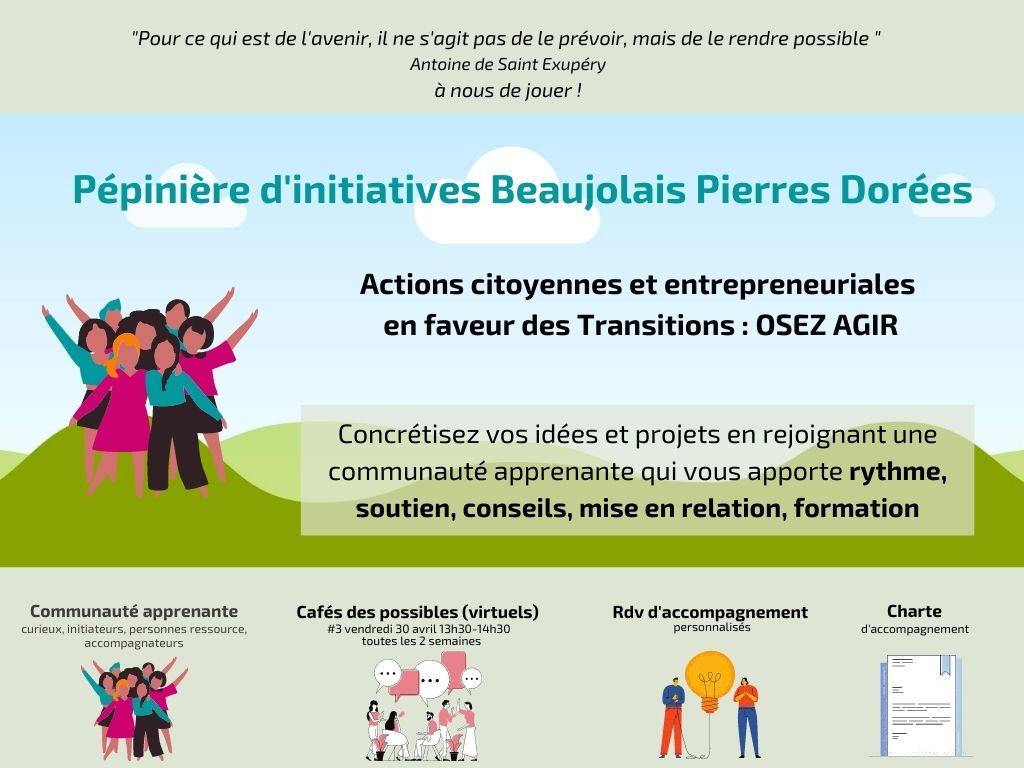 Lancement de la Pépinière d'initiatives : retour sur l'inauguration et les 1ers cafés