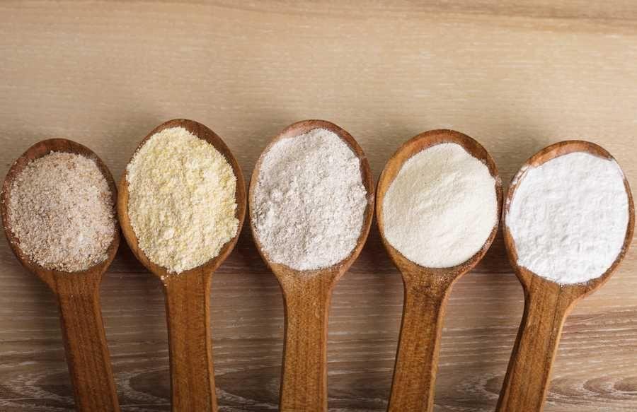 Les farines (gluten et sans gluten) : lesquelles utiliser ?