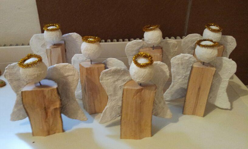 Weihnachts-Holzengel