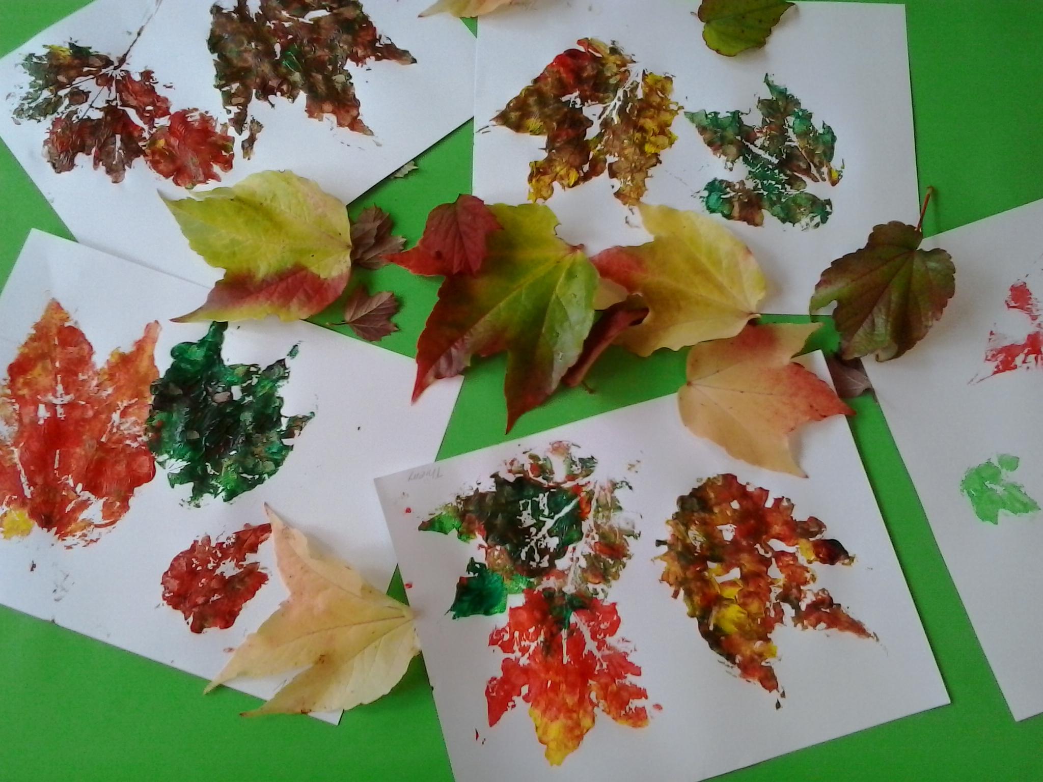 bunte Blätter....