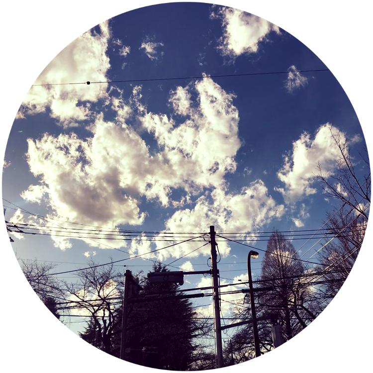 府中市の空