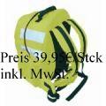 HiVis Rucksack nicht Zertifiziert, Ideal für Fahradfahrer, Handwerker oder Schulkinder            Preis  ab 39,95€ / Stck. inkl. MwSt.