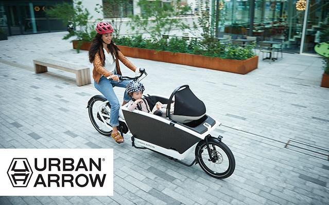 Urban Arrow Lasten e-bikes
