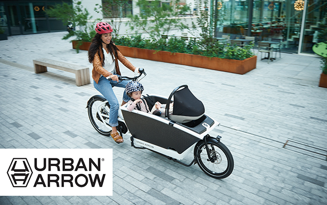 Urban Arrow Lasten e-bikes