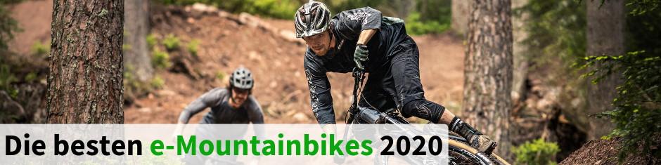 Die besten e-Mountainbikes 2020
