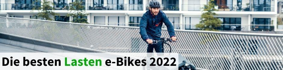 Testsieger Lasten e-Bikes 2020