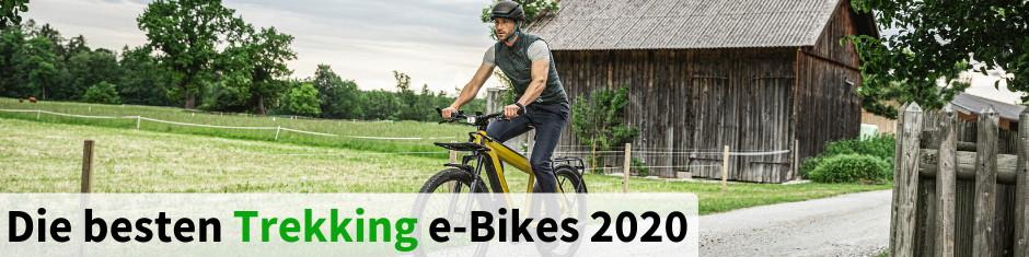 Die besten Trekking e-Bikes