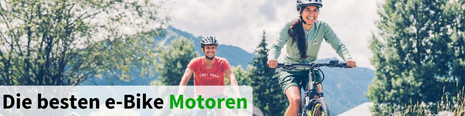 Die besten e-Bike Motoren