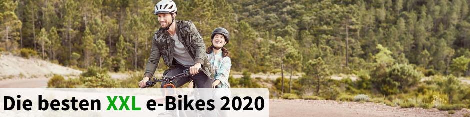 Die besten XXL e-Bikes 2020