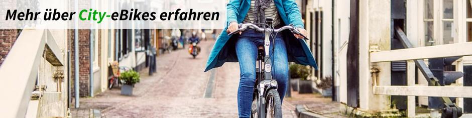 Infos über City e-Bikes