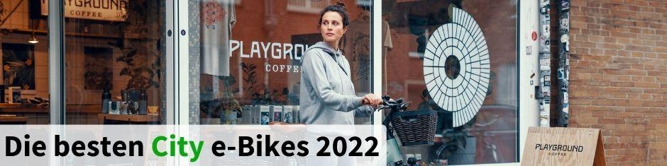 Testsieger City e-Bikes 2021