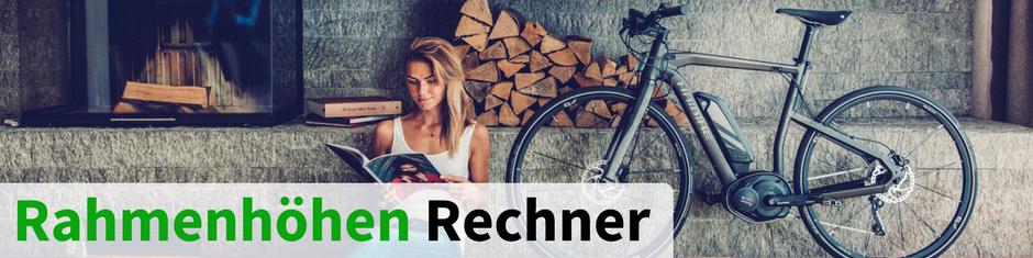 e-Bike Rahmenhöhen-Rechner