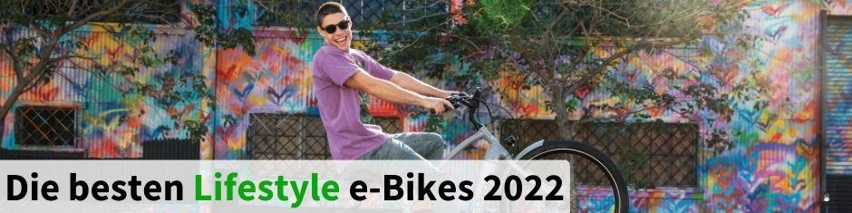 Testsieger Lifestyle Urban e-Bikes 2020