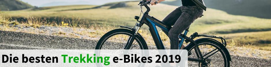 Die besten Trekking e-Bikes 2018