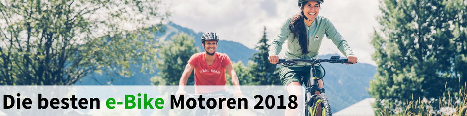 Die besten e-Bike Motoren 2018