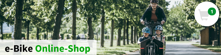 e-Bike Online-Shop Banner