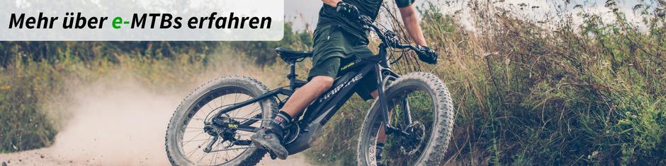Infos über e-Mountainbikes