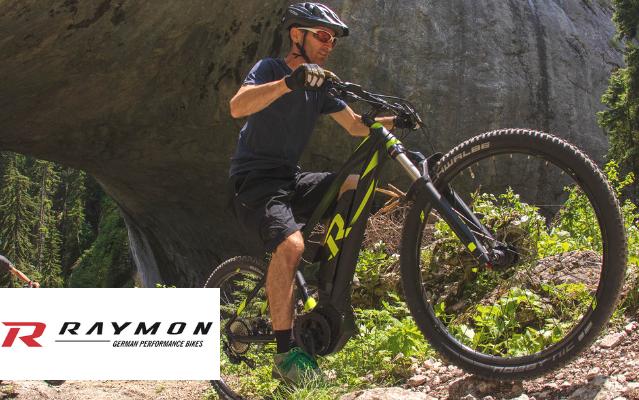 R Raymon e-Bikes